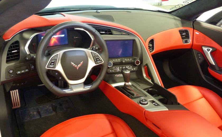 2016 Chevrolet Corvette Z51 Convertible 3LT (cuir-nav-suspension reglabe) #8