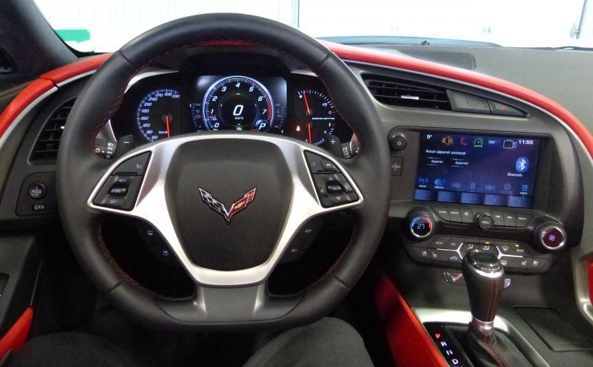 2016 Chevrolet Corvette Z51 Convertible 3LT (cuir-nav-suspension reglabe) #12