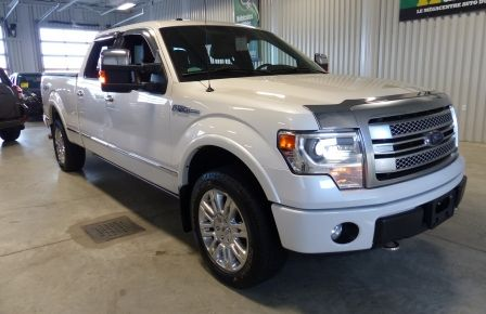 2014 Ford F150 Platinum Crew 5.0L Boite 6.5 4X4 (Cuir-Toit-Nav) à New Richmond
