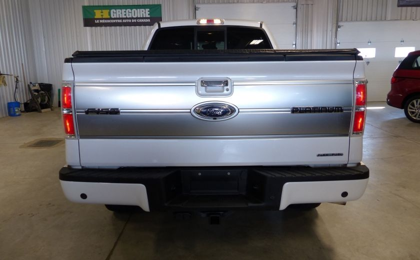 2014 Ford F150 Platinum Crew 5.0L Boite 6.5 4X4 (Cuir-Toit-Nav) #7