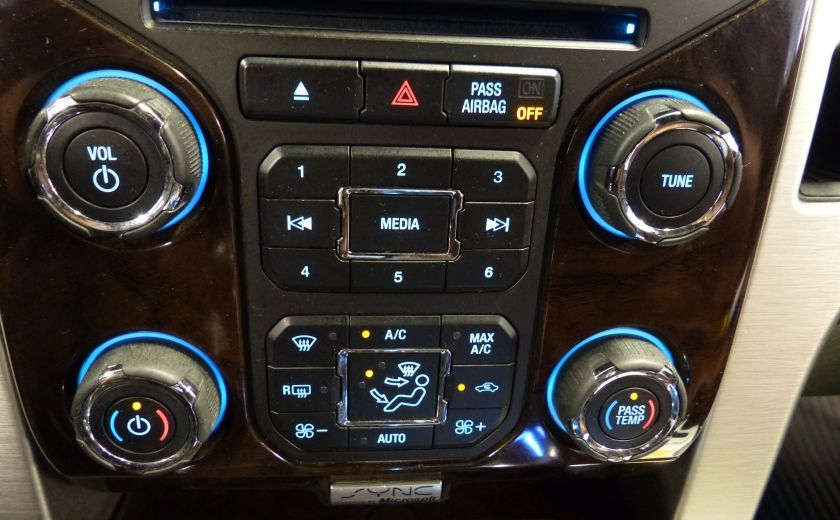 2014 Ford F150 Platinum Crew 5.0L Boite 6.5 4X4 (Cuir-Toit-Nav) #24