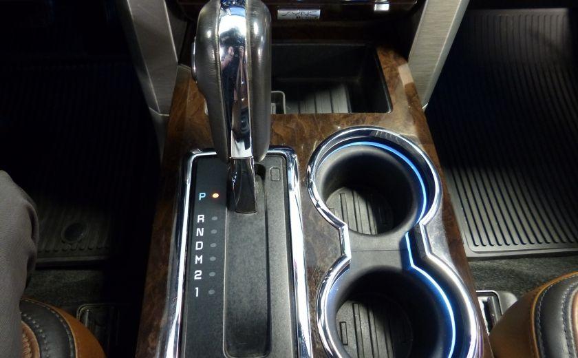 2014 Ford F150 Platinum Crew 5.0L Boite 6.5 4X4 (Cuir-Toit-Nav) #26