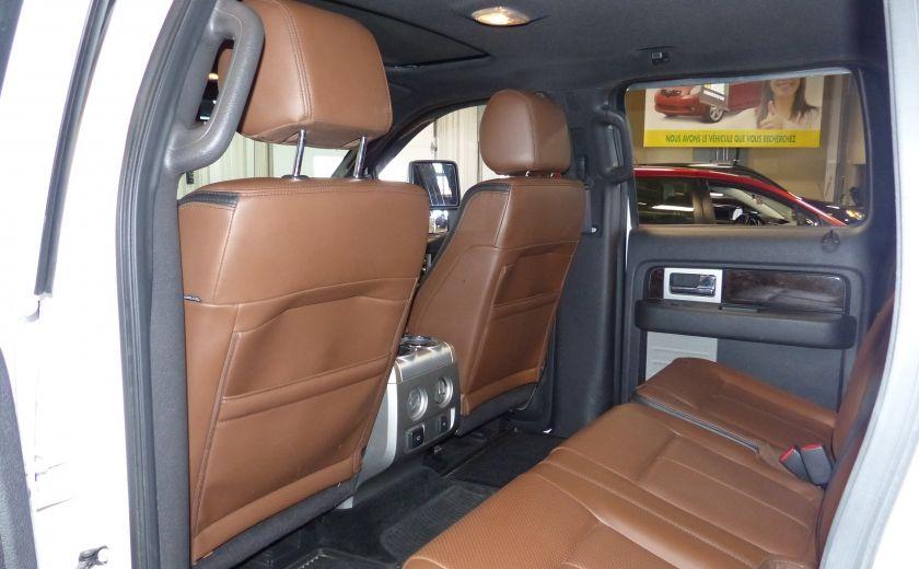 2014 Ford F150 Platinum Crew 5.0L Boite 6.5 4X4 (Cuir-Toit-Nav) #29