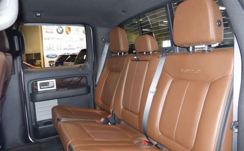 2014 Ford F150 Platinum Crew 5.0L Boite 6.5 4X4 (Cuir-Toit-Nav) #30
