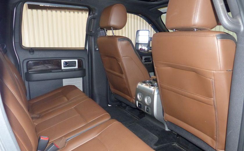2014 Ford F150 Platinum Crew 5.0L Boite 6.5 4X4 (Cuir-Toit-Nav) #34