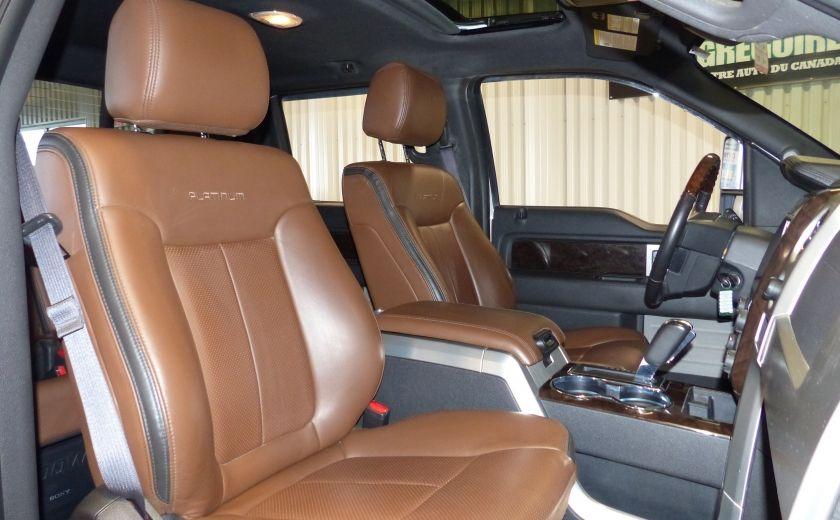 2014 Ford F150 Platinum Crew 5.0L Boite 6.5 4X4 (Cuir-Toit-Nav) #37