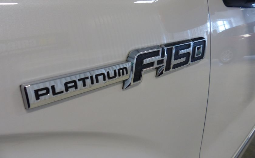 2014 Ford F150 Platinum Crew 5.0L Boite 6.5 4X4 (Cuir-Toit-Nav) #41