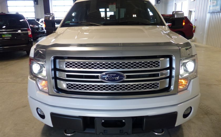 2014 Ford F150 Platinum Crew 5.0L Boite 6.5 4X4 (Cuir-Toit-Nav) #1