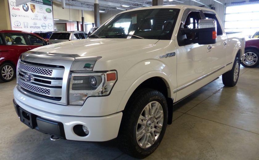 2014 Ford F150 Platinum Crew 5.0L Boite 6.5 4X4 (Cuir-Toit-Nav) #2