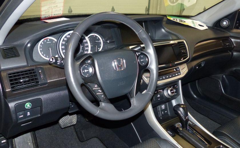 2014 Honda Accord Touring (Cuir-Toit-Nav-Caméra) #8