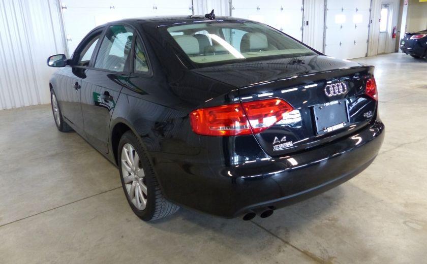 2012 Audi A4 2.0T Quattro AWD  (toit-cuir) A/C Gr-Électrique #4