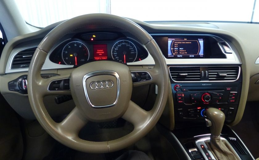 2012 Audi A4 2.0T Quattro AWD  (toit-cuir) A/C Gr-Électrique #11