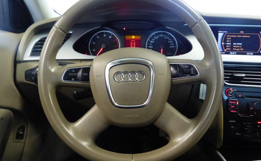 2012 Audi A4 2.0T Quattro AWD  (toit-cuir) A/C Gr-Électrique #12