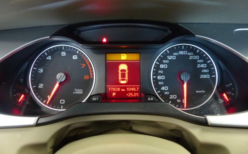 2012 Audi A4 2.0T Quattro AWD  (toit-cuir) A/C Gr-Électrique #13