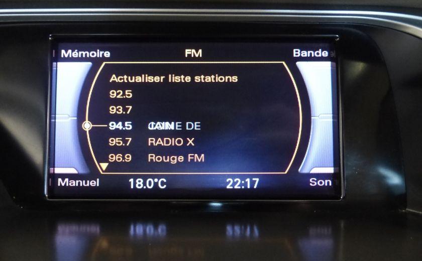 2012 Audi A4 2.0T Quattro AWD  (toit-cuir) A/C Gr-Électrique #16