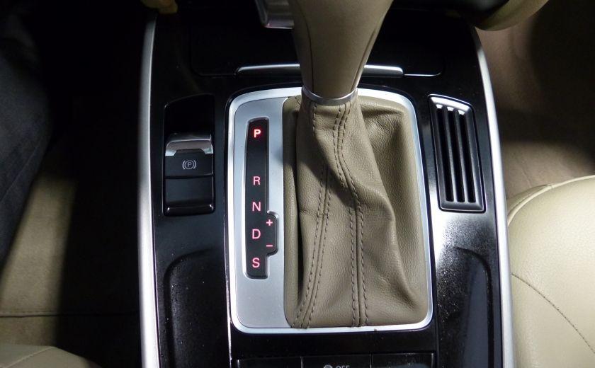 2012 Audi A4 2.0T Quattro AWD  (toit-cuir) A/C Gr-Électrique #18