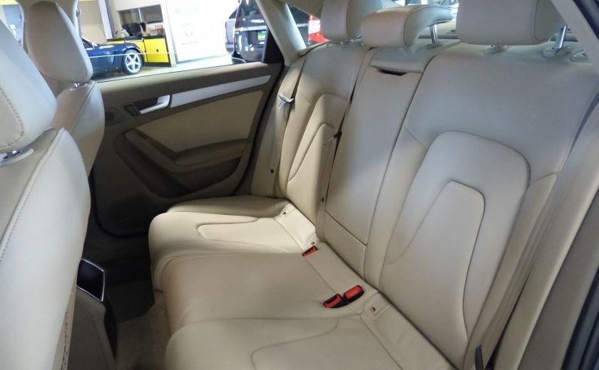 2012 Audi A4 2.0T Quattro AWD  (toit-cuir) A/C Gr-Électrique #20