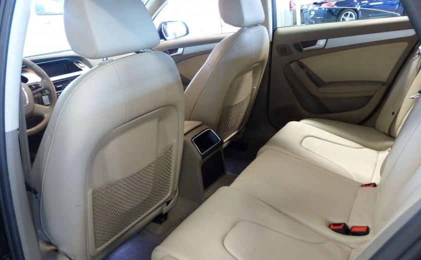2012 Audi A4 2.0T Quattro AWD  (toit-cuir) A/C Gr-Électrique #21