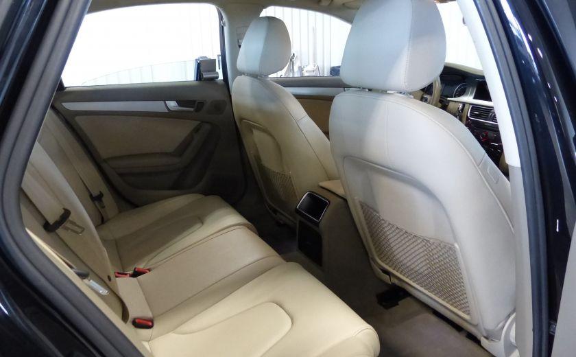 2012 Audi A4 2.0T Quattro AWD  (toit-cuir) A/C Gr-Électrique #24