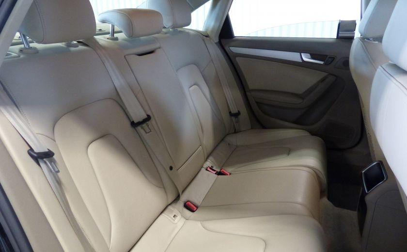 2012 Audi A4 2.0T Quattro AWD  (toit-cuir) A/C Gr-Électrique #25