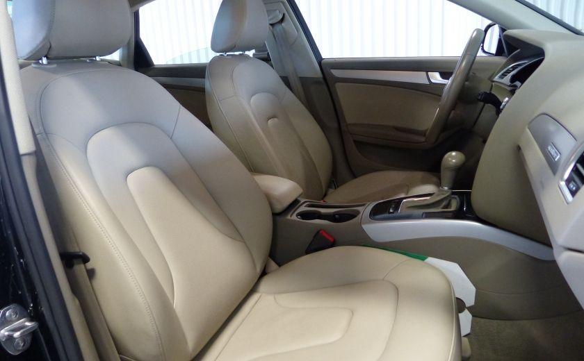 2012 Audi A4 2.0T Quattro AWD  (toit-cuir) A/C Gr-Électrique #27