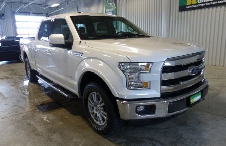 2015 Ford F150 Lariat-FX4 Ecoboost CrewCab (Cuir-Nav) Boite 6.5 in Sept-Îles