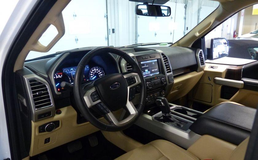 2015 Ford F150 Lariat-FX4 Ecoboost CrewCab (Cuir-Nav) Boite 6.5 #8