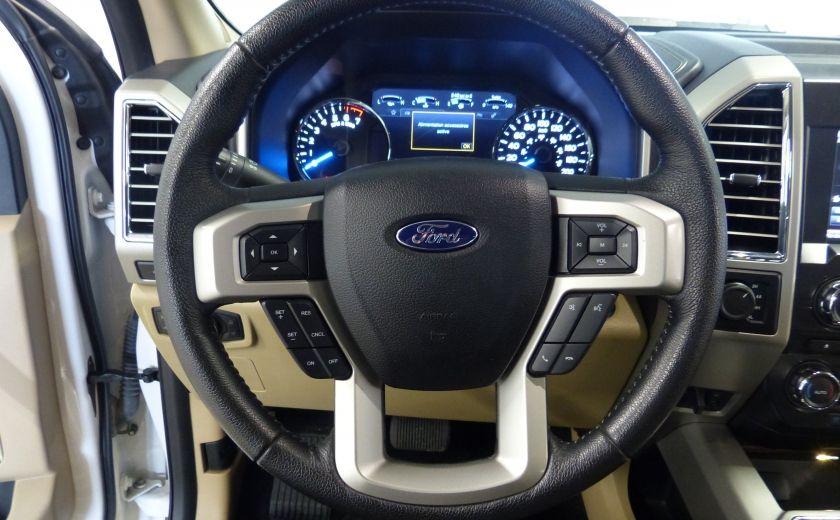 2015 Ford F150 Lariat-FX4 Ecoboost CrewCab (Cuir-Nav) Boite 6.5 #9