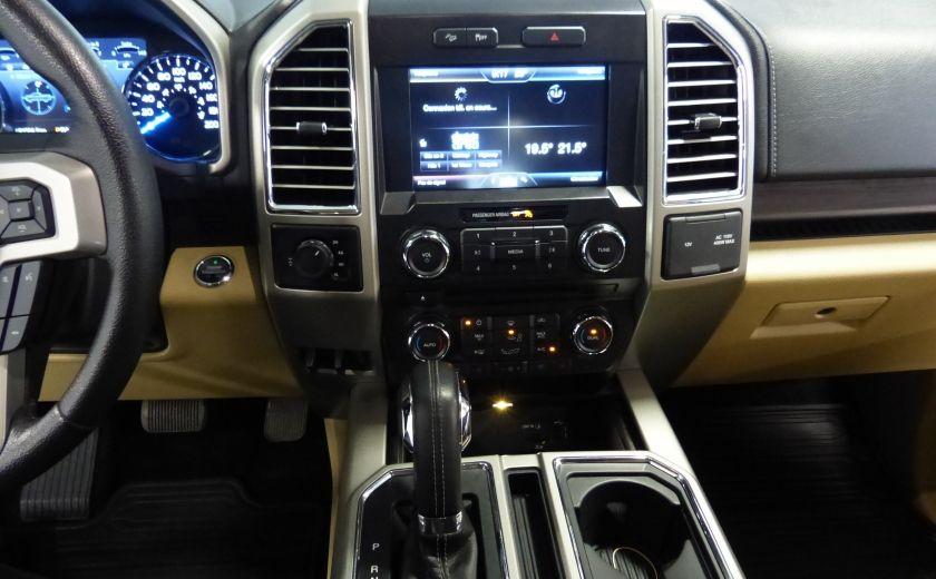 2015 Ford F150 Lariat-FX4 Ecoboost CrewCab (Cuir-Nav) Boite 6.5 #14