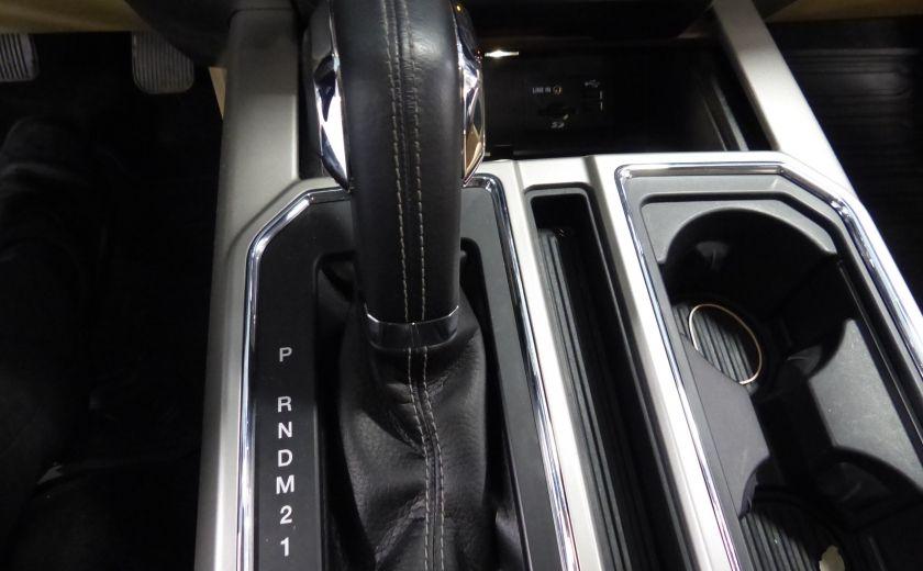 2015 Ford F150 Lariat-FX4 Ecoboost CrewCab (Cuir-Nav) Boite 6.5 #19
