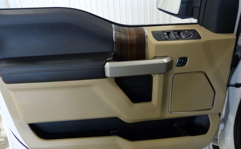 2015 Ford F150 Lariat-FX4 Ecoboost CrewCab (Cuir-Nav) Boite 6.5 #28