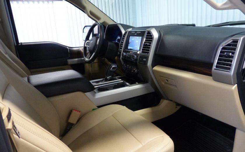 2015 Ford F150 Lariat-FX4 Ecoboost CrewCab (Cuir-Nav) Boite 6.5 #29