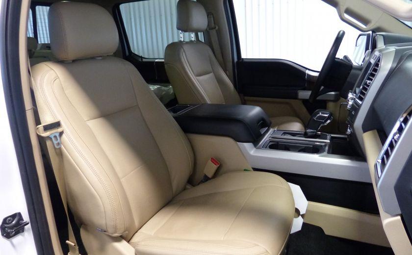 2015 Ford F150 Lariat-FX4 Ecoboost CrewCab (Cuir-Nav) Boite 6.5 #30