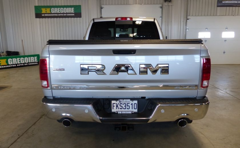 2015 Ram 1500 Laramie Limited Crew 2.0 (Cuir-Toit-Nav) #5
