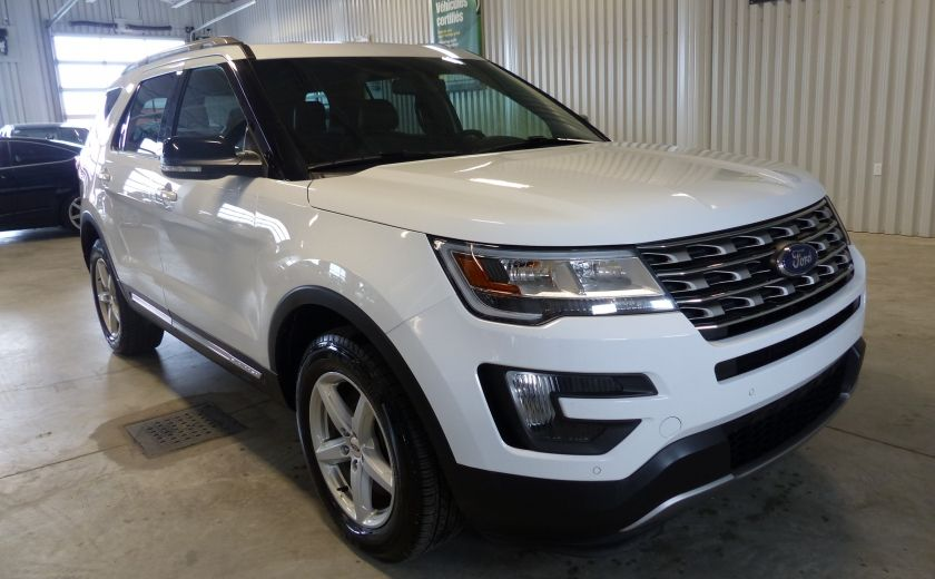 2016 Ford Explorer XLT AWD 7 PASSAGERS (CUIR-TOIT PANO MAGS ) #0