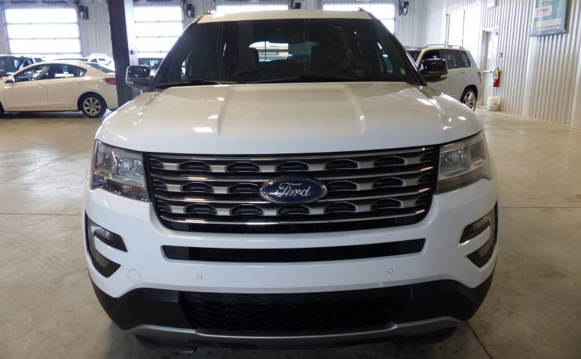 2016 Ford Explorer XLT AWD 7 PASSAGERS (CUIR-TOIT PANO MAGS ) #1
