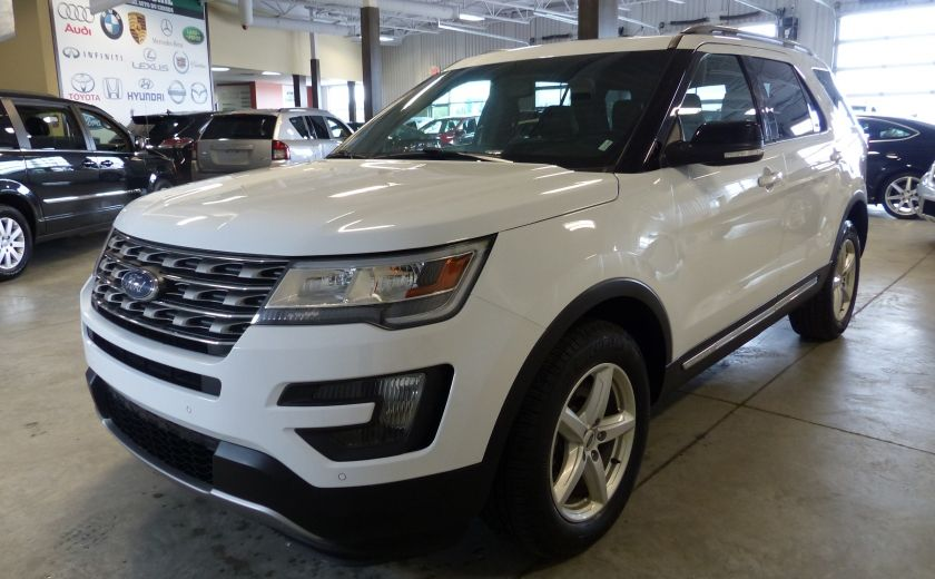 2016 Ford Explorer XLT AWD 7 PASSAGERS (CUIR-TOIT PANO MAGS ) #2