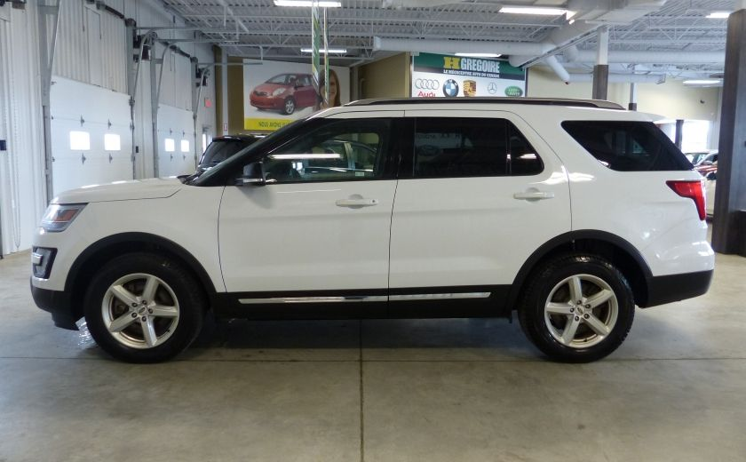 2016 Ford Explorer XLT AWD 7 PASSAGERS (CUIR-TOIT PANO MAGS ) #3