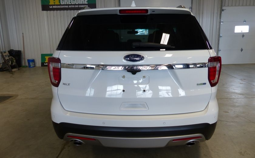 2016 Ford Explorer XLT AWD 7 PASSAGERS (CUIR-TOIT PANO MAGS ) #5