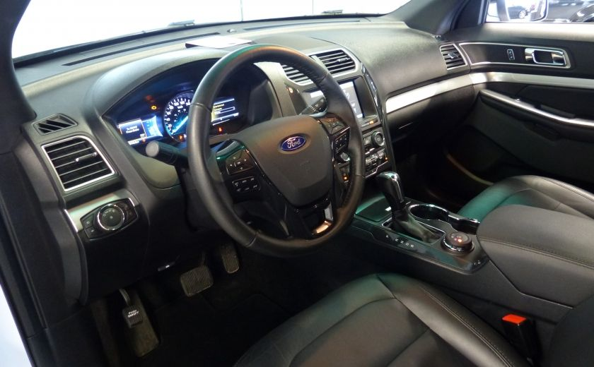 2016 Ford Explorer XLT AWD 7 PASSAGERS (CUIR-TOIT PANO MAGS ) #9