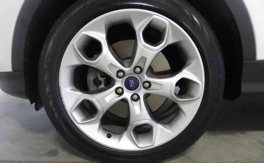 2013 Ford Escape Titanium AWD (TOIT-CUIR-NAV) A/C Camera #33
