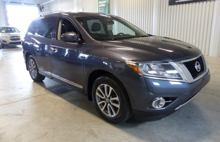 2014 Nissan Pathfinder SL AWD (Cuir-Nav-Mags-Cam) 7 Passagers in New Richmond