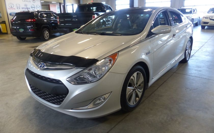 2013 Hyundai Sonata Hybrid Limited Tech (Cuir-Toit-Nav) #3