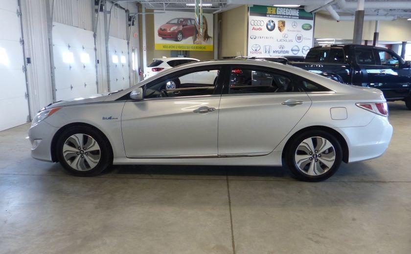 2013 Hyundai Sonata Hybrid Limited Tech (Cuir-Toit-Nav) #4