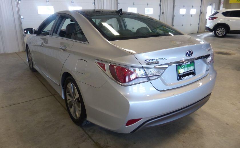 2013 Hyundai Sonata Hybrid Limited Tech (Cuir-Toit-Nav) #5