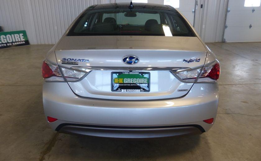 2013 Hyundai Sonata Hybrid Limited Tech (Cuir-Toit-Nav) #6