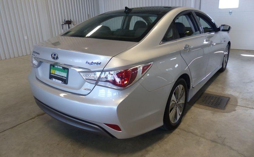 2013 Hyundai Sonata Hybrid Limited Tech (Cuir-Toit-Nav) #9