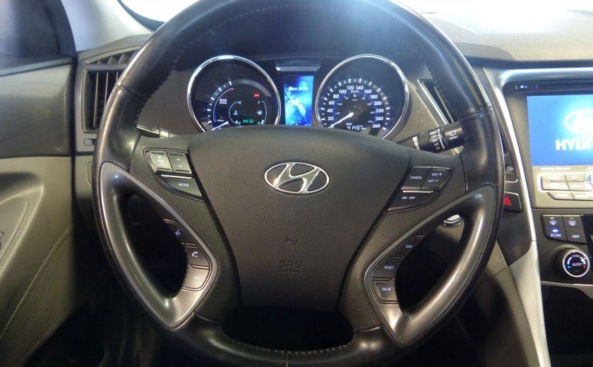 2013 Hyundai Sonata Hybrid Limited Tech (Cuir-Toit-Nav) #12