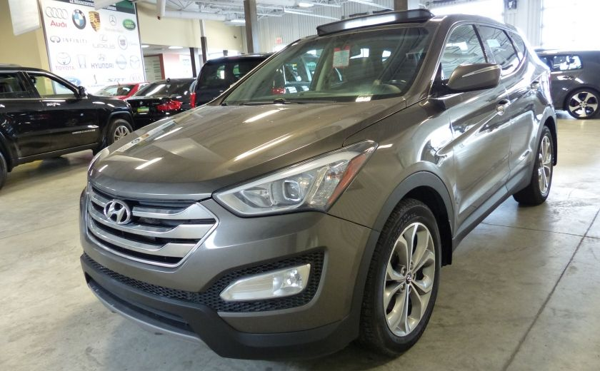 2013 Hyundai Santa Fe Premium Sport 2.0T AWD (Cuir-Mags) #2