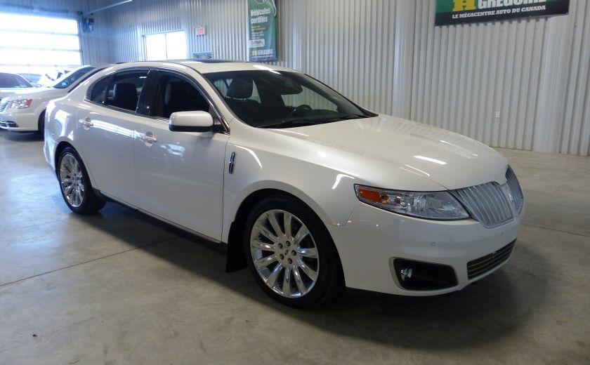 2011 Lincoln MKS 4dr Sdn 3.7L AWD (CUIR-TOIT-NAV) Bluetooth #0